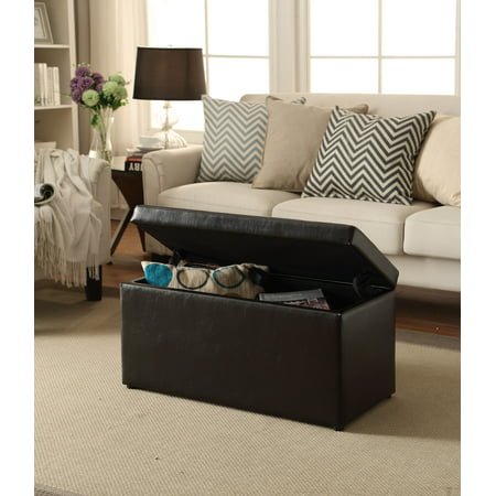 Better Homes Amp Gardens 30 Inch Hinged Storage Ottoman