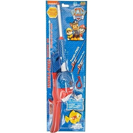 Kid Casters Telescopic Paw Patrol No Tangle Fishing Rod Reel Combo
