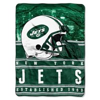 "NFL New York Jets ""Stacked"" 60"" x 80"" Silk Touch Throw"