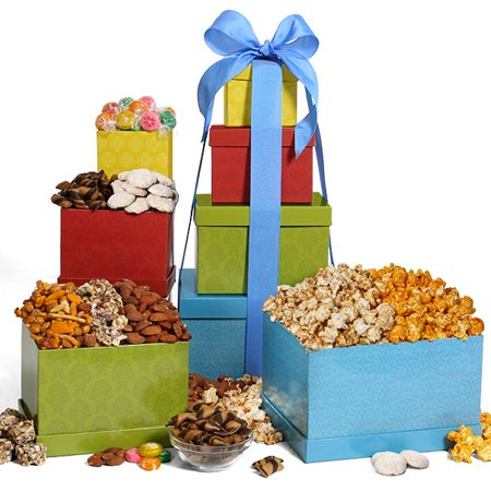 Festive Favorites Gift Tower (Chocolate Indulgence Gift Tower)