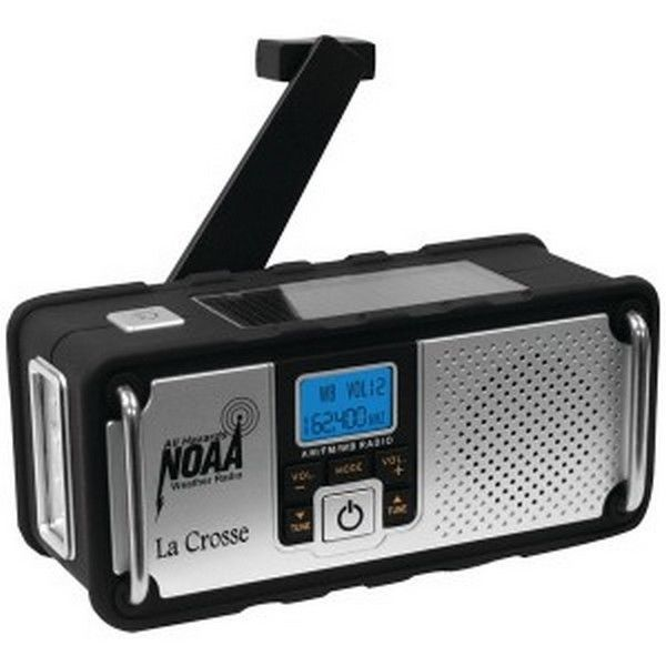La Crosse Technology LCR810106 NOAA Solar Weather Radio