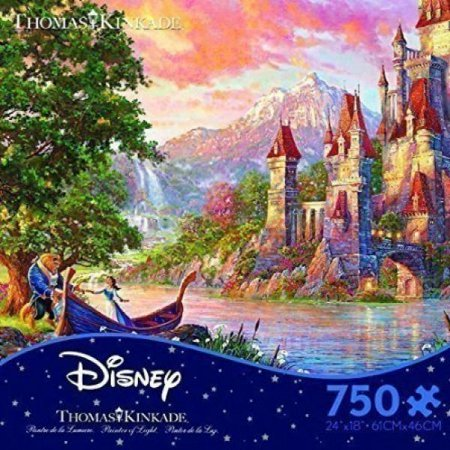 Thomas Kinkade Disney Dreams Collection Beauty and the Beast