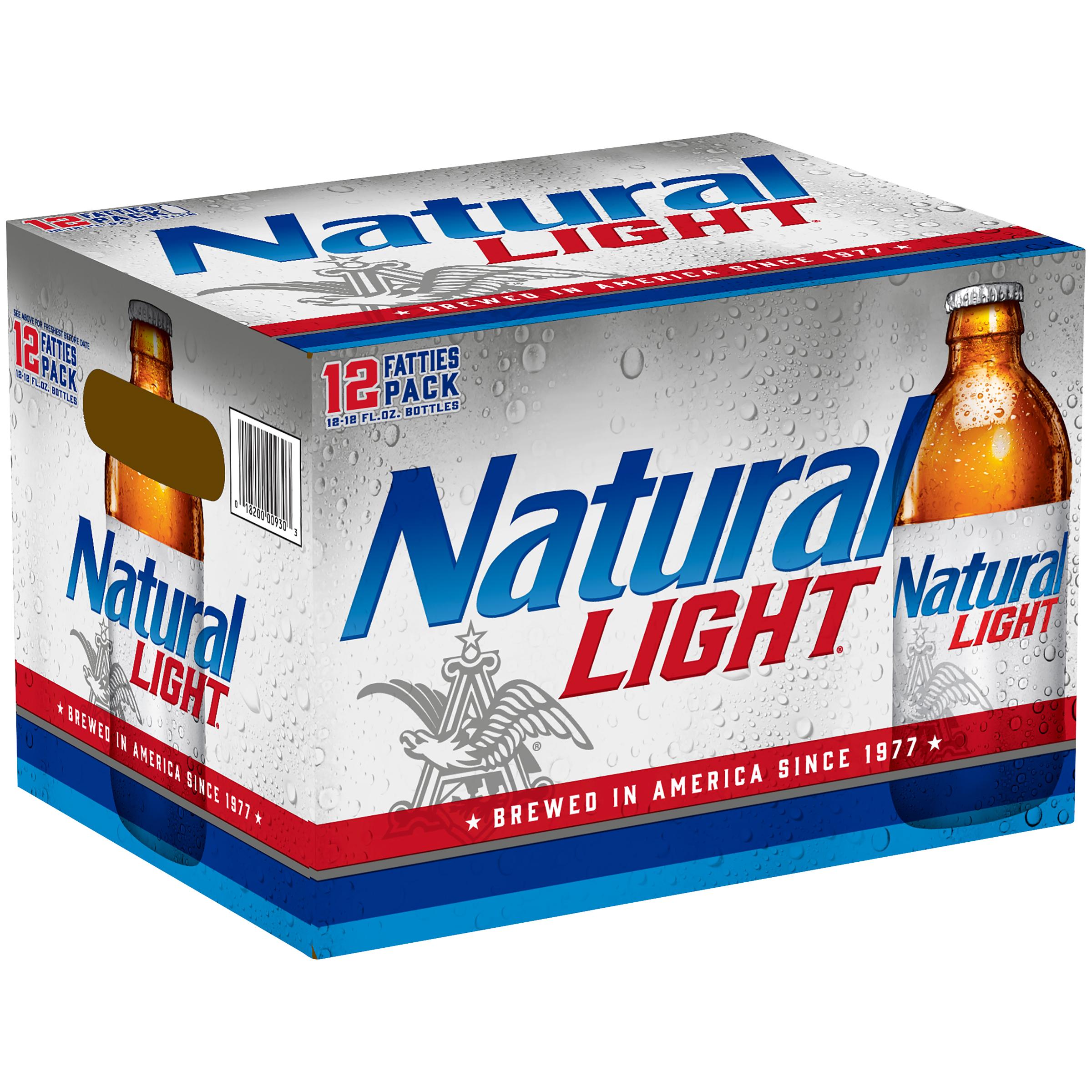 Natural Light Beer, 12 pk 12 fl. oz. Bottles