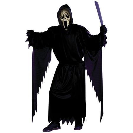 Zombie Ghost Face Teen Halloween Costume
