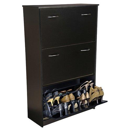Shoe Cabinet, Triple, White - Walmart.com