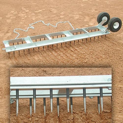 Diamond Digger Field Groomer with Wheels
