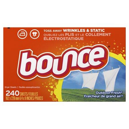 Bounce Fabric Softener Sheets, Outdoor Fresh, 240 (Best Smelling Fabric Softener 2019)