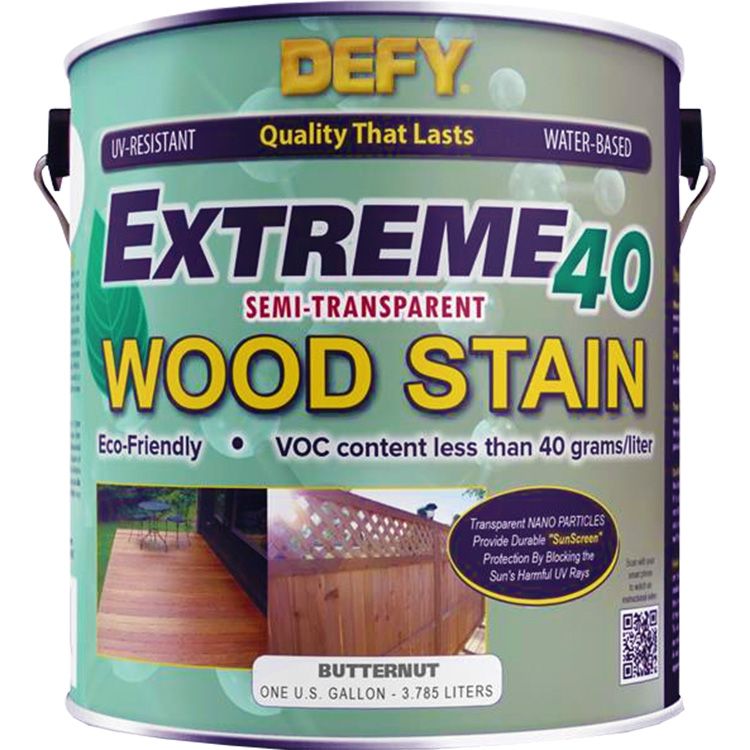DEFY Extreme 40 Wood Stain Butternut Tone gal