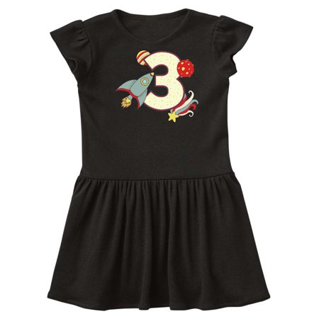 3rd Birthday Outer Space Theme Toddler Dress (Dress Up Space Theme)