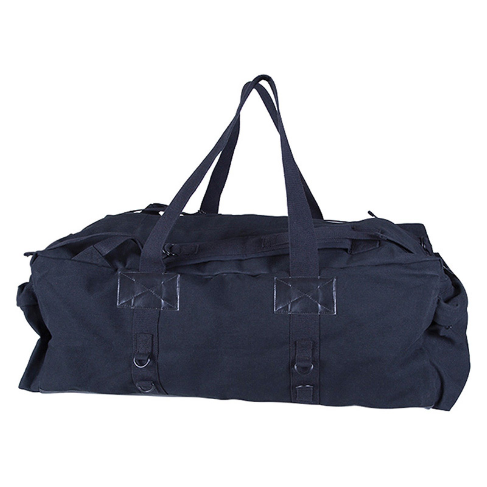 "Canvas Duffle Bag, Black, 34"" x 15"" X by Generic"