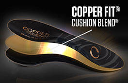 Copper Fit Balance Insoles, Performance