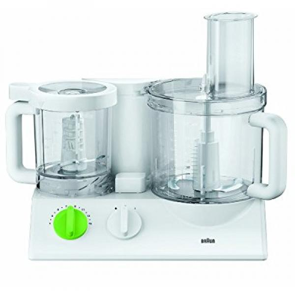 Braun FX3030WH Tribute Collection 600-Watt Food Processor, 220-volts (Not for USA), White