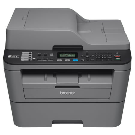 Brother Compact Monochrome All-in-One Laser Printer, MFC-L2685DW, Wireless Printing, Duplex Two-Sided (Best Mfc Color Laser Printer)