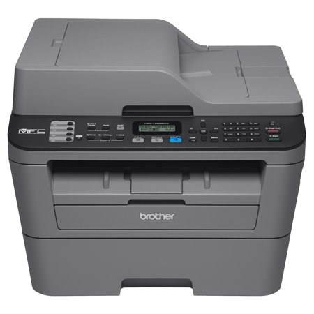 Brother Compact Monochrome All-in-One Laser Printer, MFC-L2685DW, Wireless Printing, Duplex Two-Sided (One Laser Printer)