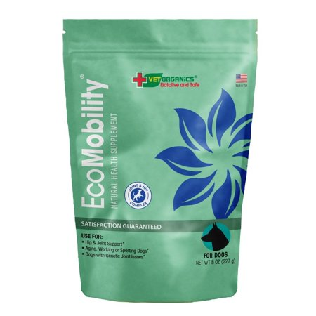 50% Off! Vet Organics EcoMobility Joint & Hip Complex for Dogs, 8 oz.