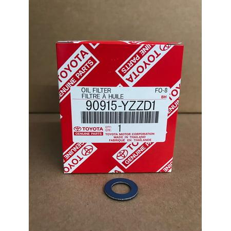 OEM Toyota Oil Filter 90915-YZZD1 & Gasket 90430-12031 (Toyota Oem Oil Filter)