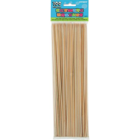 Bamboo Skewers Case (Bamboo Skewers, 12in, 100ct)