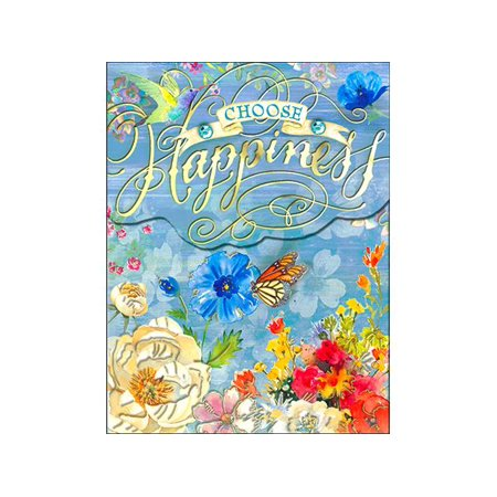 Punch Studio Note Pad Pocket Wow Choose Happiness