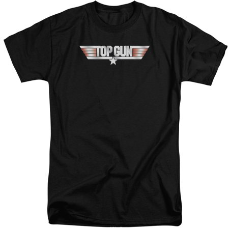 Top Gun Logo Mens Big And Tall Shirt