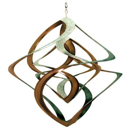 Large Copper Wind Spinner - Cosmix Patina & Copper Wind Spinner - 14 in.