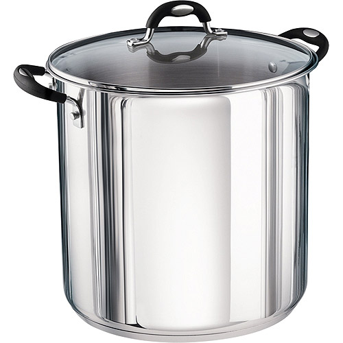 Tramontina 22-Quart Stainless Steel Stock Pot