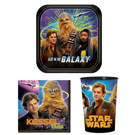 Star Wars Han Solo Party Bundle: 16x 7