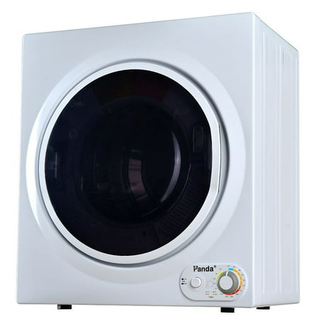 Panda 3.75 cu ft Compact Dryer, White