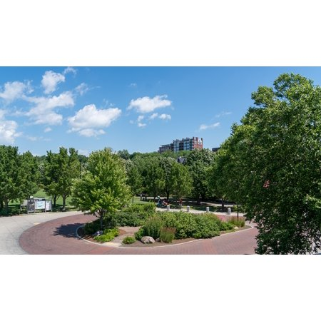 LAMINATED POSTER Garden Downtown Burlington Waterfront Vermont Poster Print 24 x 36](Downtown At The Gardens)
