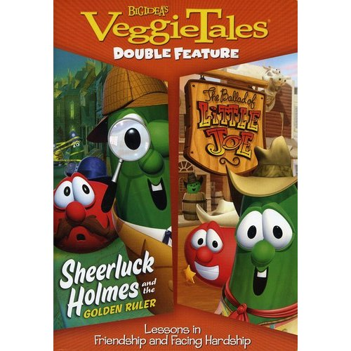 VeggieTales Double Feature: Sheerluck Holmes And The Golden Ruler / The Ballad Of Little Joe