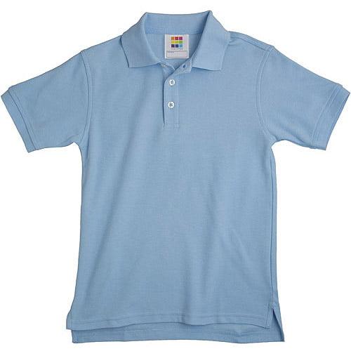Healthtex Baby Boys' Short Sleeve Pique Polo Shirt