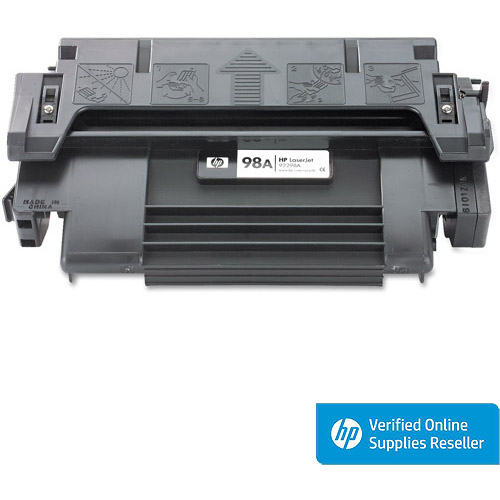 HP 98A (92298A) Black Original Laser Jet Toner Cartridge