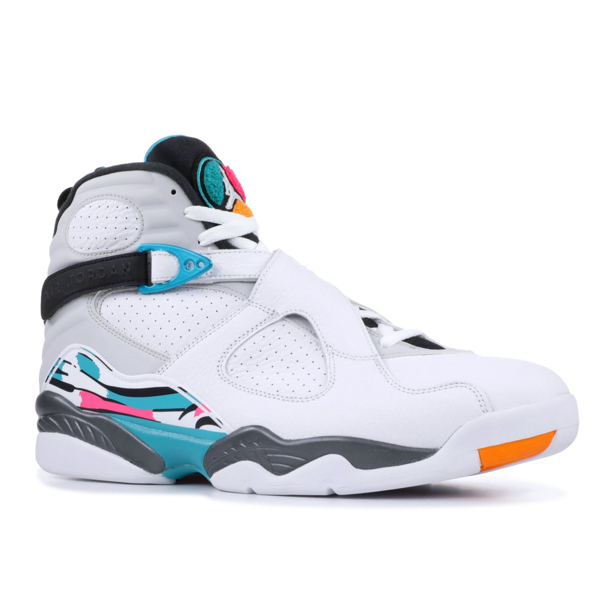 bas prix 7021b 2551e Air Jordan - Men - Air Jordan 8 Retro 'South Beach' - 305381-113 - Size 8