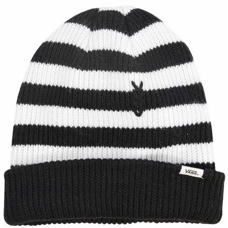 Vans - Vans Women s Boast Beanie Hat Cap-Black White One Size - Walmart.com 1f1242d54b
