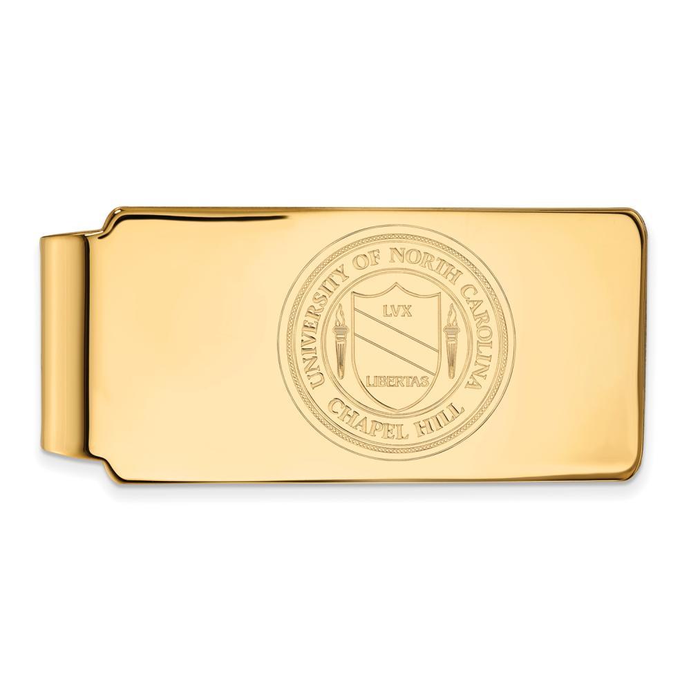 North Carolina Money Clip Crest (Gold Plated)