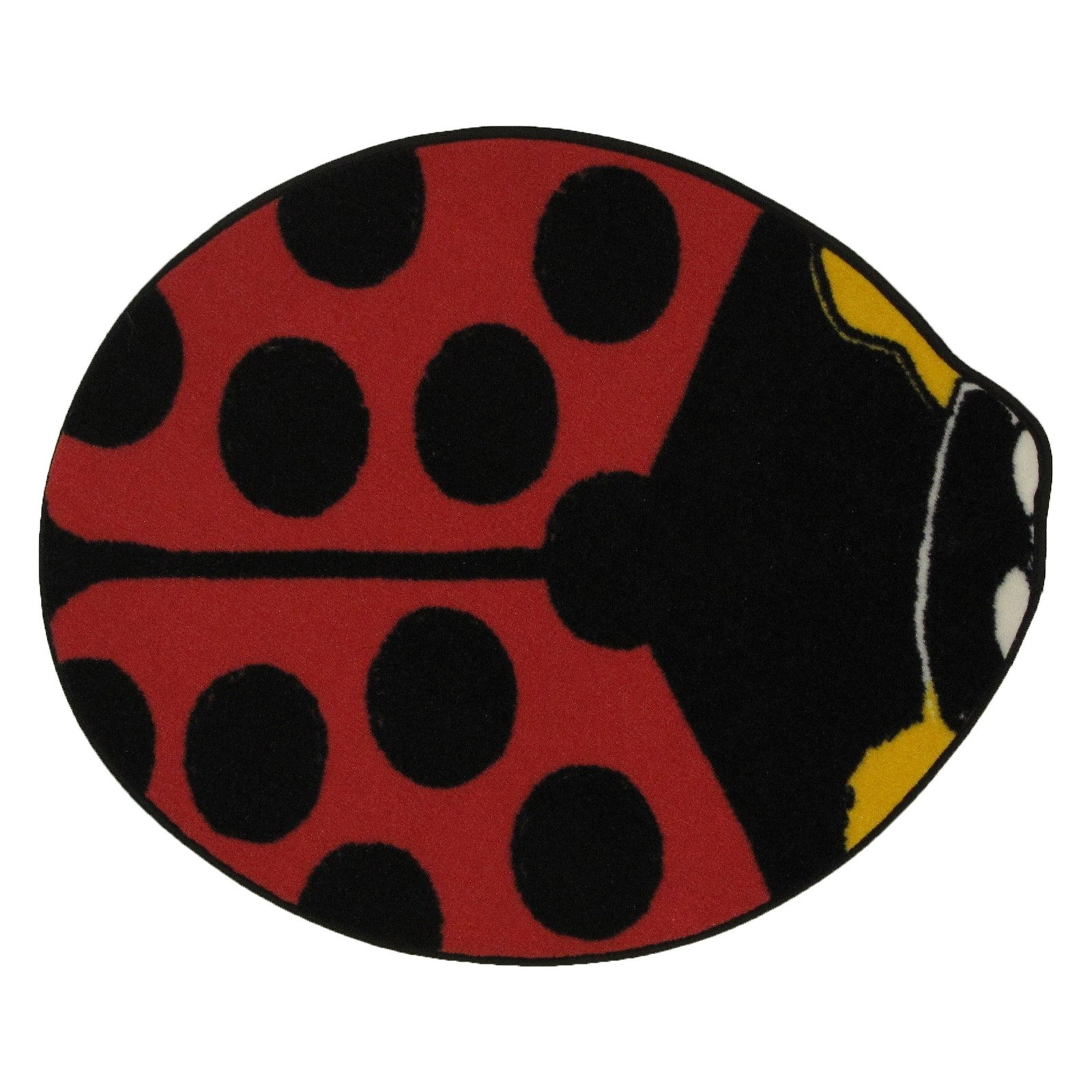 "Fun Rugs Red Lady Bug 35"" x 39"" Rug"