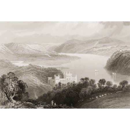 The Valley Of The Blackwater Between Lismore And Youghall Ireland Drawn By WHBartlett Engraved By H AdlardFrom The Scenery And Antiquities Of Ireland By NPWillis And JStirling CoyneIllustrated From Dr