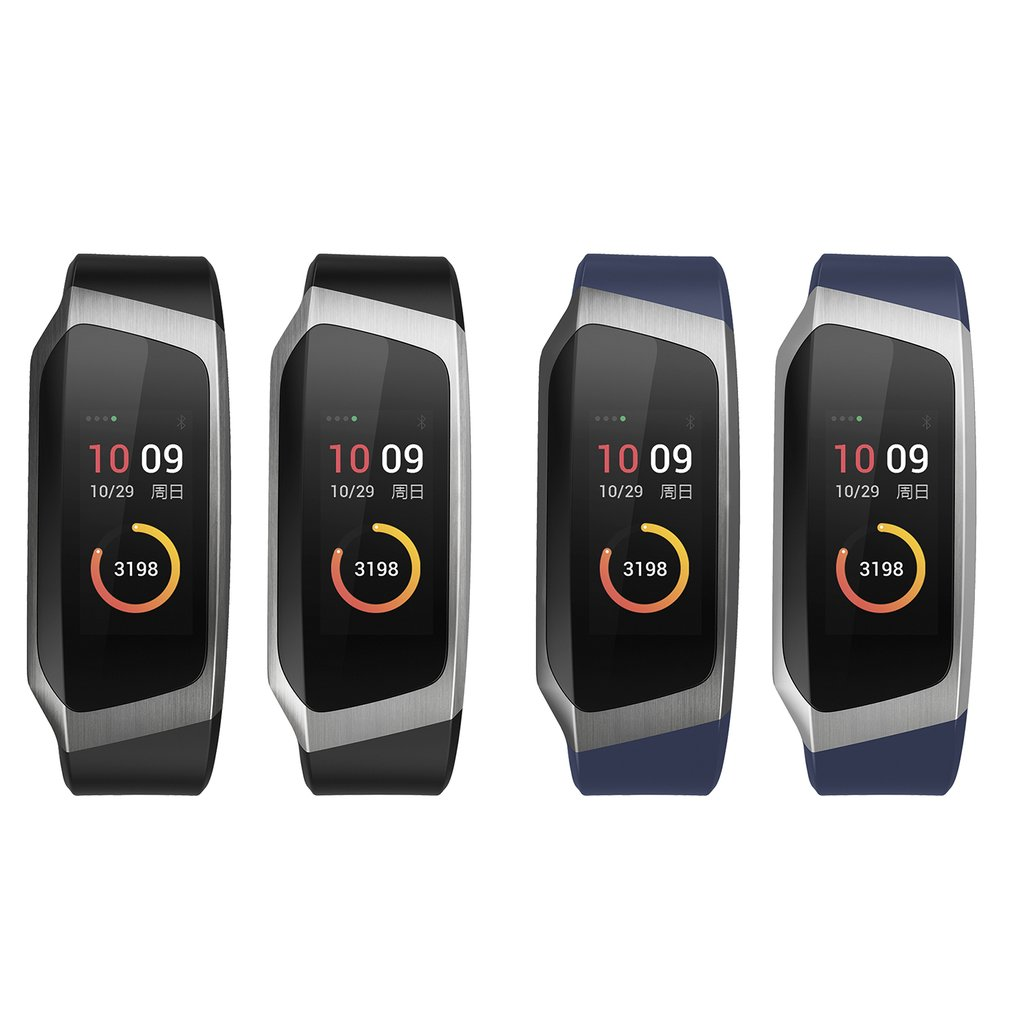 0.96 Inch Screen IP67 Smartband Blood Pressure Oxygen Heart Rate Monitor Band - image 8 de 10