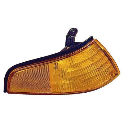 Compatible 1993 - 1996 Ford Escort Parking + Marker Light Assembly / Lens Cover - Right (Passenger) F3CZ 13200 A FO2521117 Replacement For Ford Escort (1996 Ford Escort)