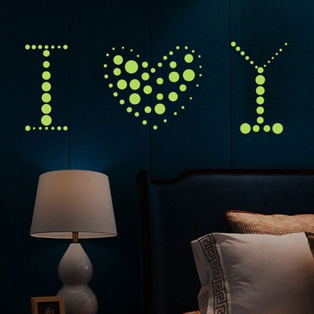 400-pack Glow in the Dark Stars for Kids/Children Bedroom Walls & Ceiling of Starry Night Sky, Adhesive Decals & Dots Tested & Proven Very - Glow In The Night 5k