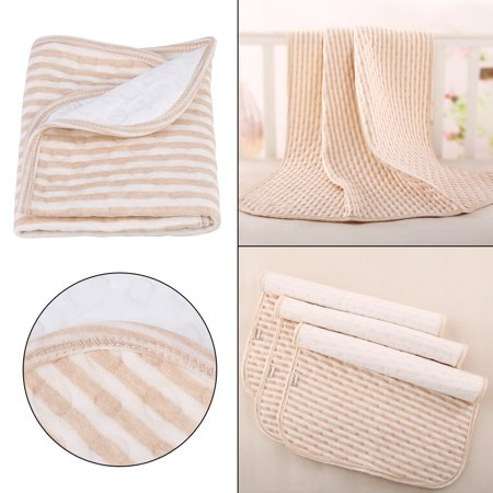 WALFRONT Changing Pad Baby Cotton Urine Mat Diaper Nappy Bedding Changing Cover Pad Changing Urine Diaper - image 4 of 8