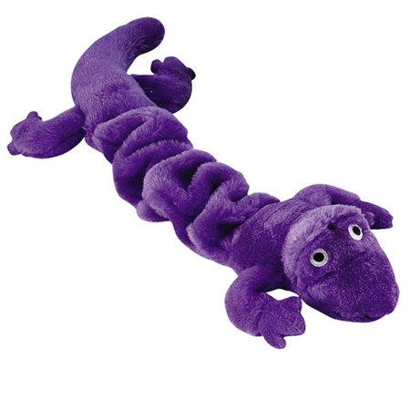 zanies bungies gecko dog toys, purple, 1624