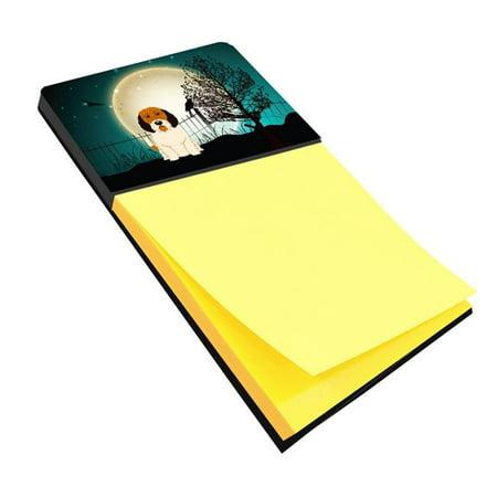 Halloween Scary Petit Basset Griffon Veenden Sticky Note Holder (Halloween Petit Fours)