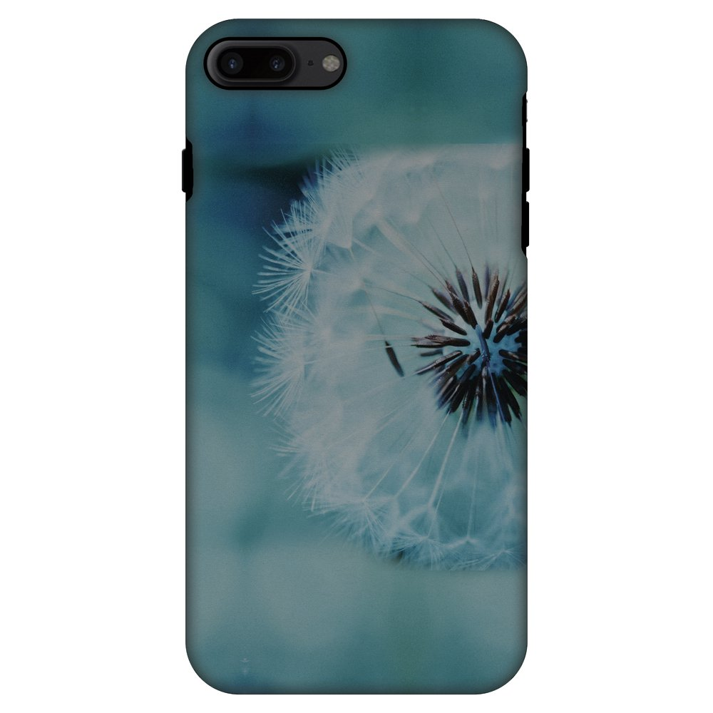 iPhone 7 Plus Case, Premium Handcrafted Printed Designer 2 in 1 Dual Layer ShockProof Case Back Cover for iPhone 7 Plus - Dandelion Close By