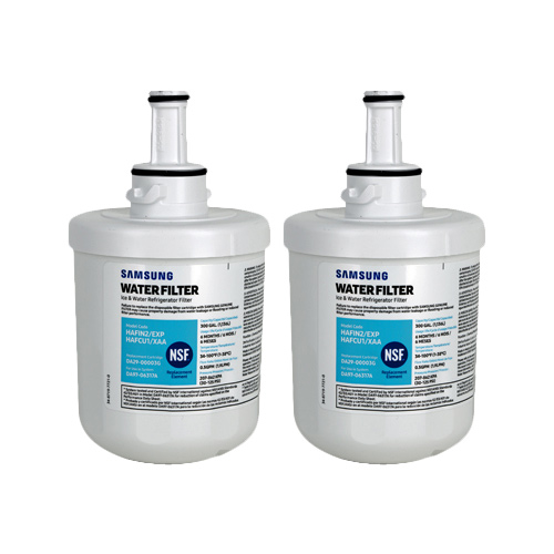 Replacement Water Filter for Samsung Clear Choice CLCH103 Refrigerator Water Filter (2 Pack)