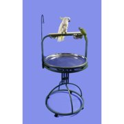 A Cage Co. Deluxe Bird Play Stand with Wood Perch