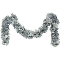 Set of 2 Daisy chain garland
