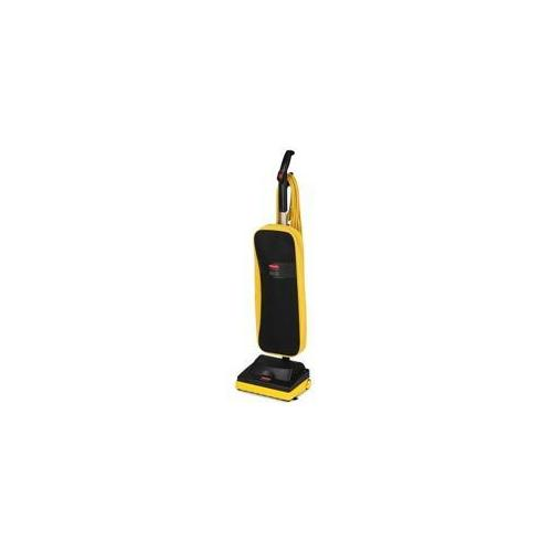 Rubbermaid Commercial Products Rubbermaid Commercial Products Upright Vacuum, Ultra Light, 12 inch, 40 ft.  Cord, Black-Ye