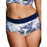 "Dorina Curves ""Corsica"" Body Shaping Hipster Swim Brief #D00578M"