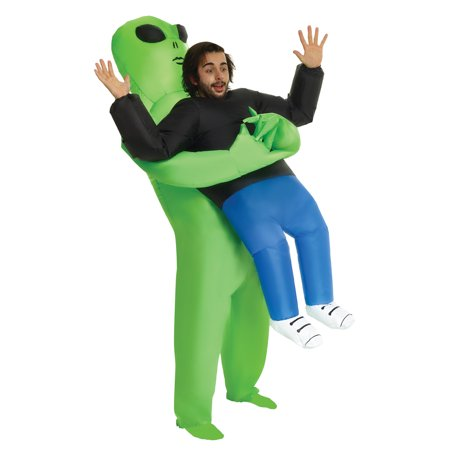 When I Grow Up Costume (Man Alien Pick Up Inflatable One Size Halloween Dress Up / Role Play)