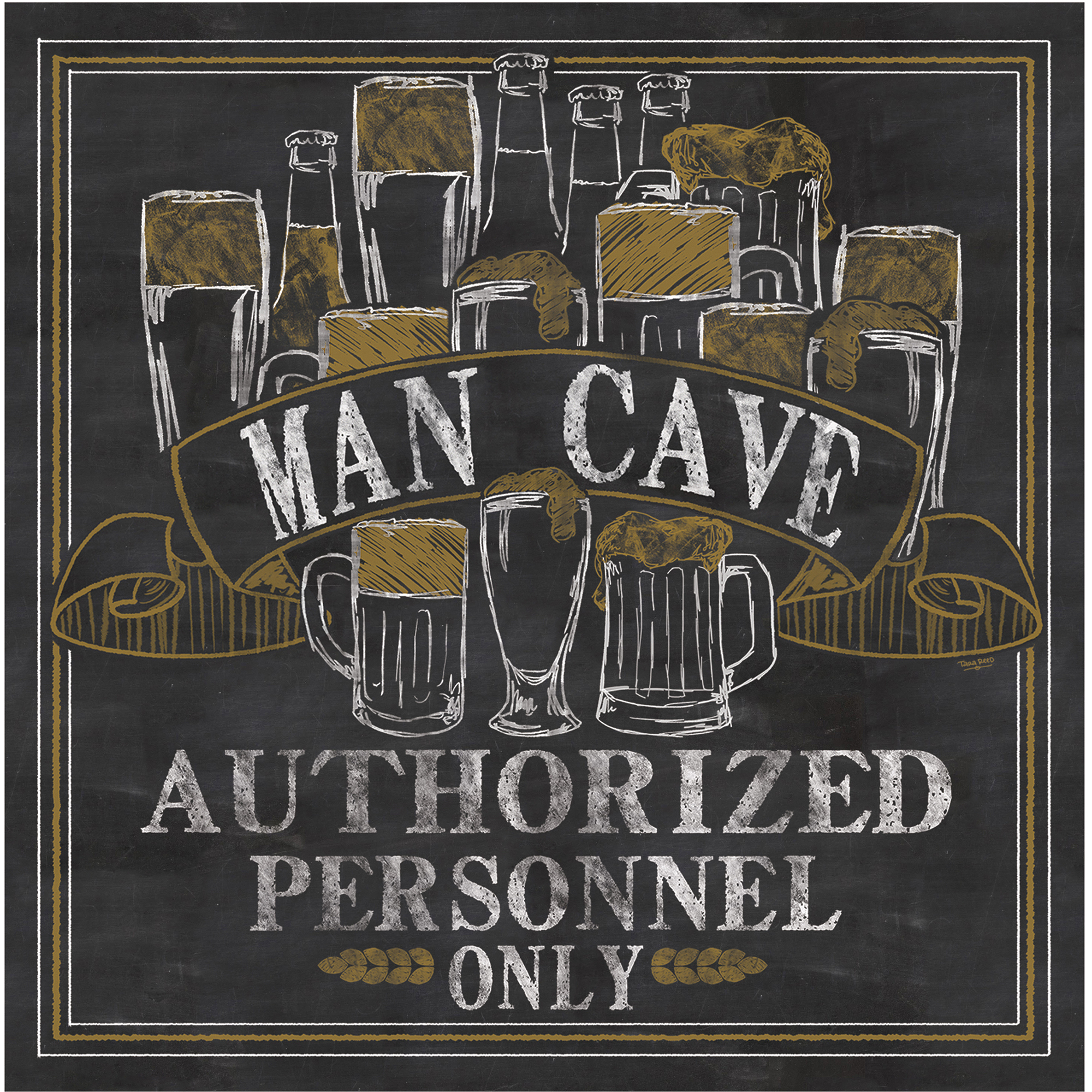 Occasions Drink Coasters, Set, Man Cave by Generic